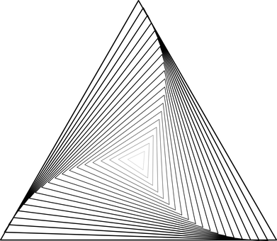 Géométrie, Triangles, Courbé, Forme