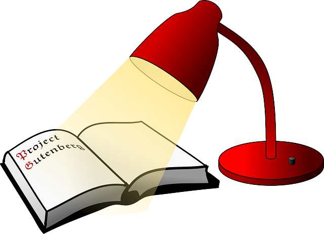 Reading Lamp Book · Free vector graphic on Pixabay