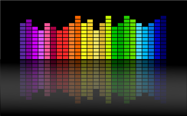 Sound Bar Background Free vector graphic: E...