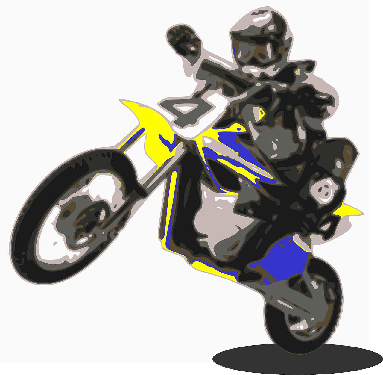Enduro Motorbike Motorcycle Free Vector Graphic On Pixabay