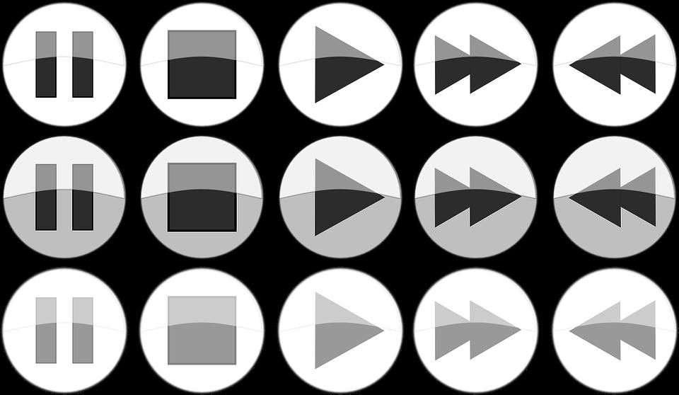 multim dia boutons lecteur images vectorielles gratuites sur pixabay. Black Bedroom Furniture Sets. Home Design Ideas