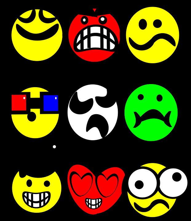 Emoticon Smilies Emosi Gambar Vektor Gratis Di Pixabay