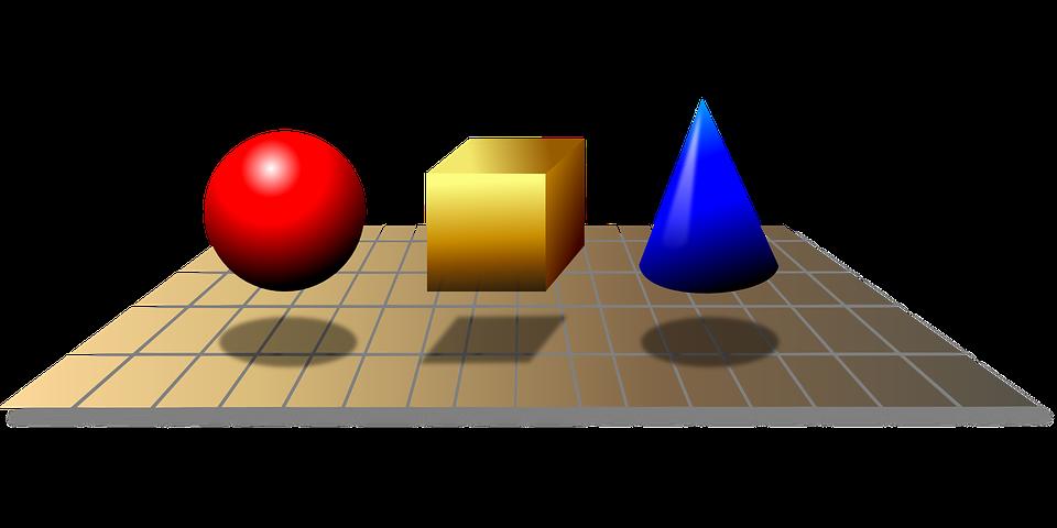 Sólidos, Figuras, Geométrica, Geometría, Matemáticas