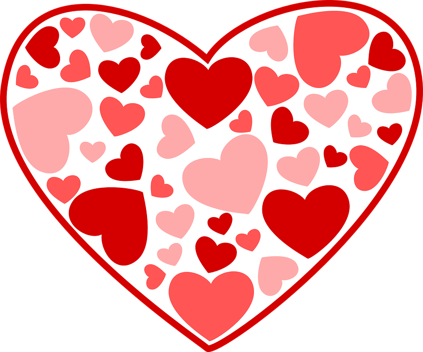Free vector graphic: Hearts, Love, Pink, Red, Valentine - Free ...