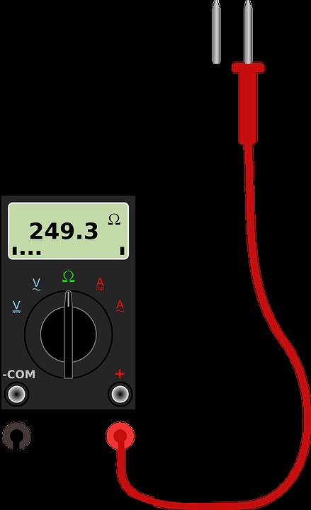 Digital Voltmeter Symbols : Free vector graphic multimeter meter multi