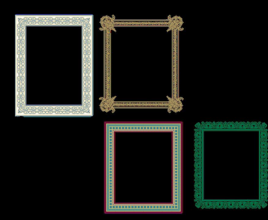 Artistik Cerceve Pixabay Da Ucretsiz Vektor Grafik