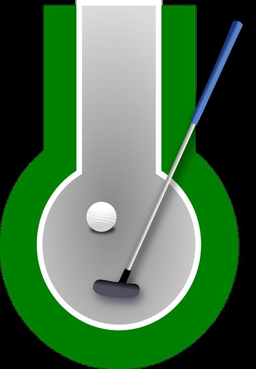 minigolf golf hobby · free vector graphic on pixabay