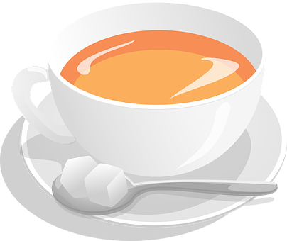 Tea, Cup, Sugar, Spoon, Hot, Beverage