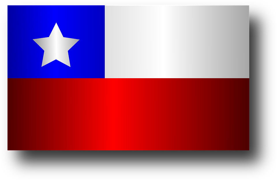 Free Vector Graphic: Chile, Chilean, Flag, Country