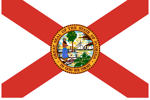 Florida Flag State Usa Florida Florida Flo