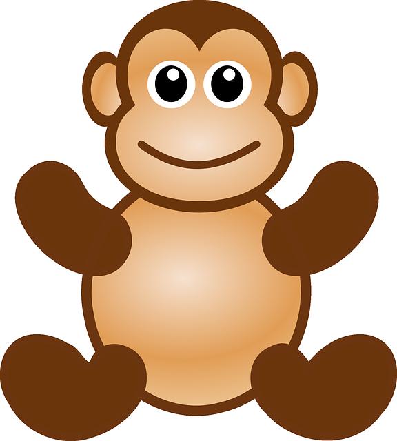 Monkey Ape Animal · Free Vector Graphic On Pixabay