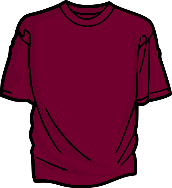 t shirt shirt clothing free vector graphic on pixabay
