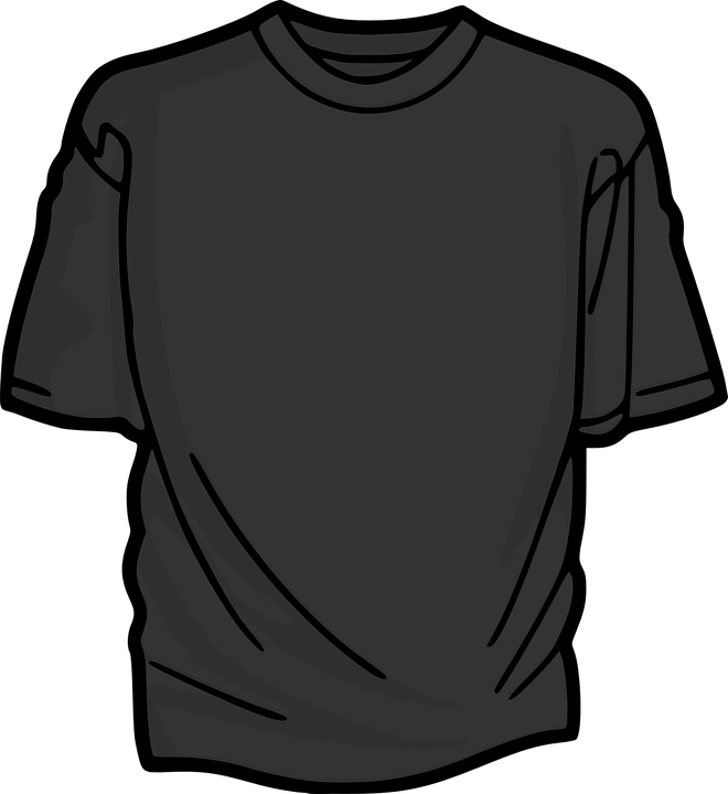 t-shirt shirt clothing grey gray black