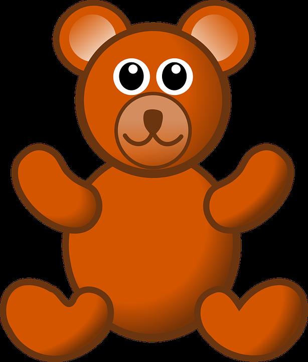 teddy bear animal free vector graphic on pixabay