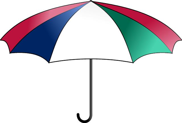 Free vector graphic Umbrella Parasol Cover Rain Free