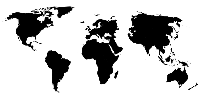World map asia black free vector graphic on pixabay gumiabroncs Image collections