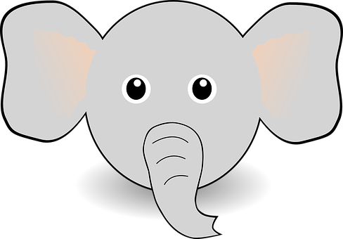 cartoon elephant images pixabay download free pictures