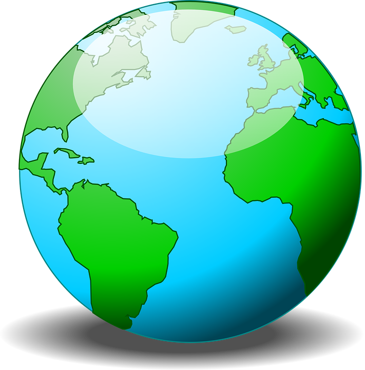 Free Vector Graphic World Earth Globe Planet Free Image On - World earth