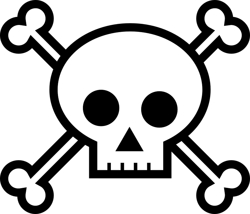 death s head bones crossbones free vector graphic on pixabay rh pixabay com