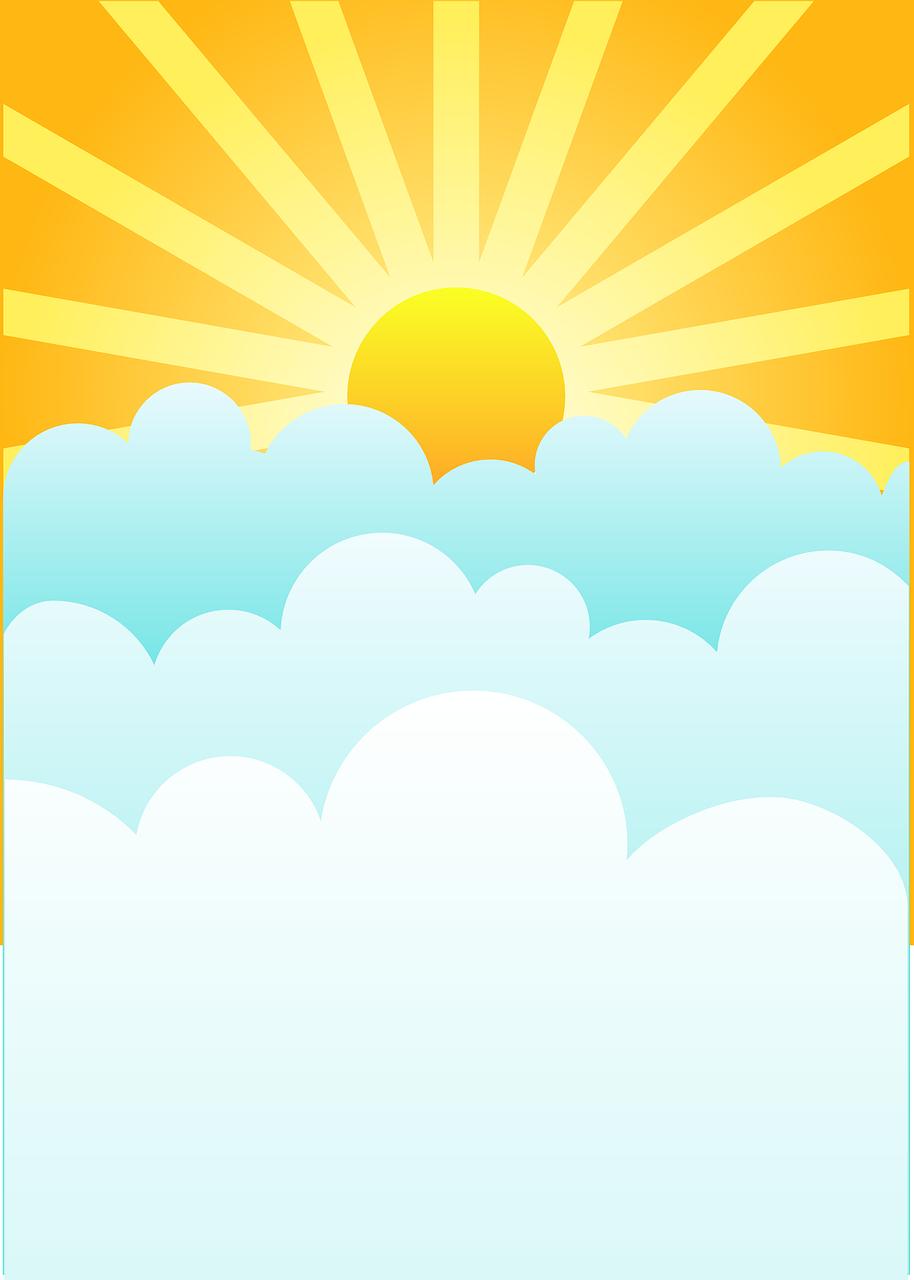 Сентября бабье, открытка солнце для небо