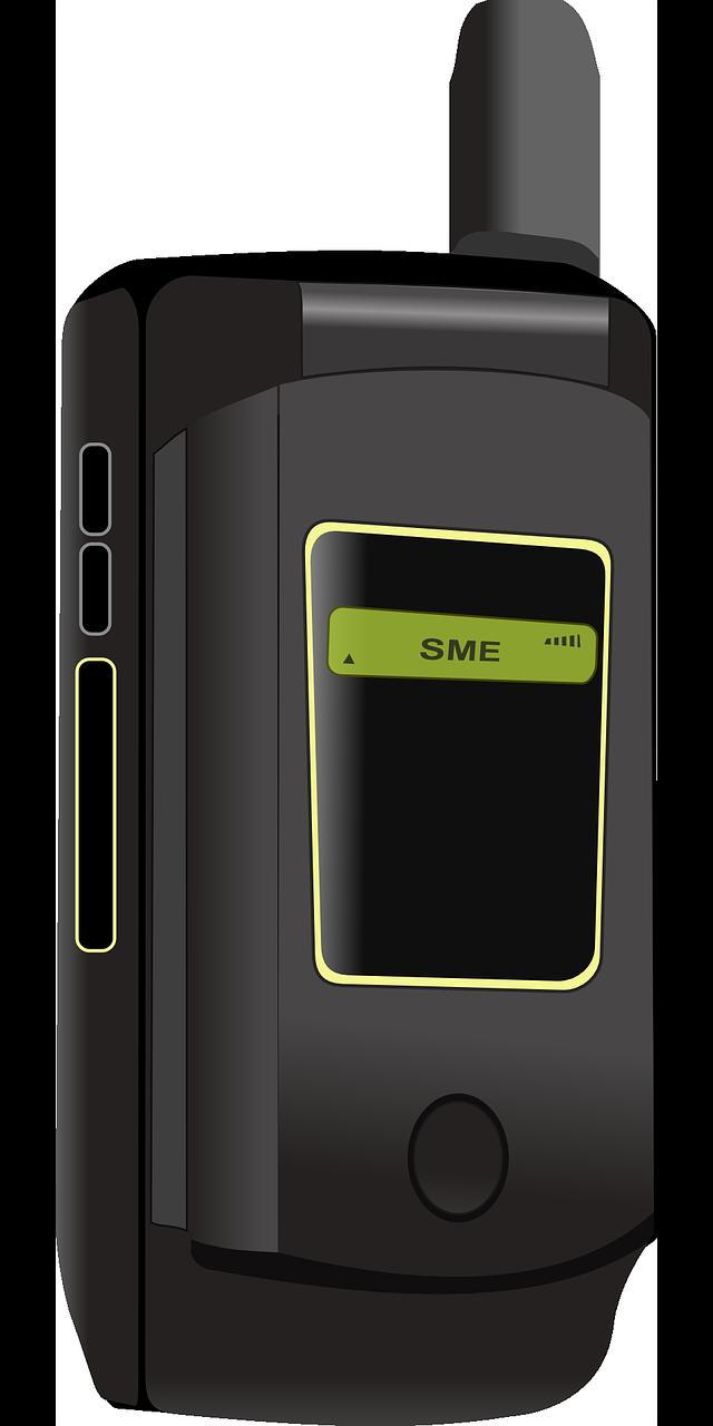 二つ折りの携帯電話 携帯電話 モトローラ Pixabayの無料ベクター素材