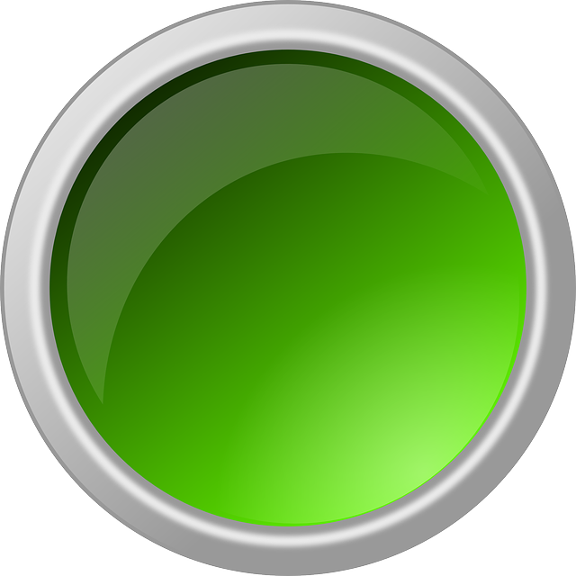 button glossy round free vector graphic on pixabay