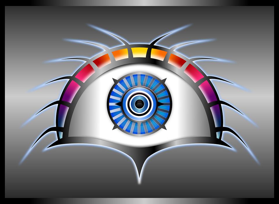 Android Роботизирана Око - Безплатни векторни графики в Pixabay