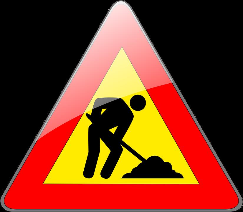 Immagine vettoriale gratis sito di costruzione sito for Cantiere di costruzione