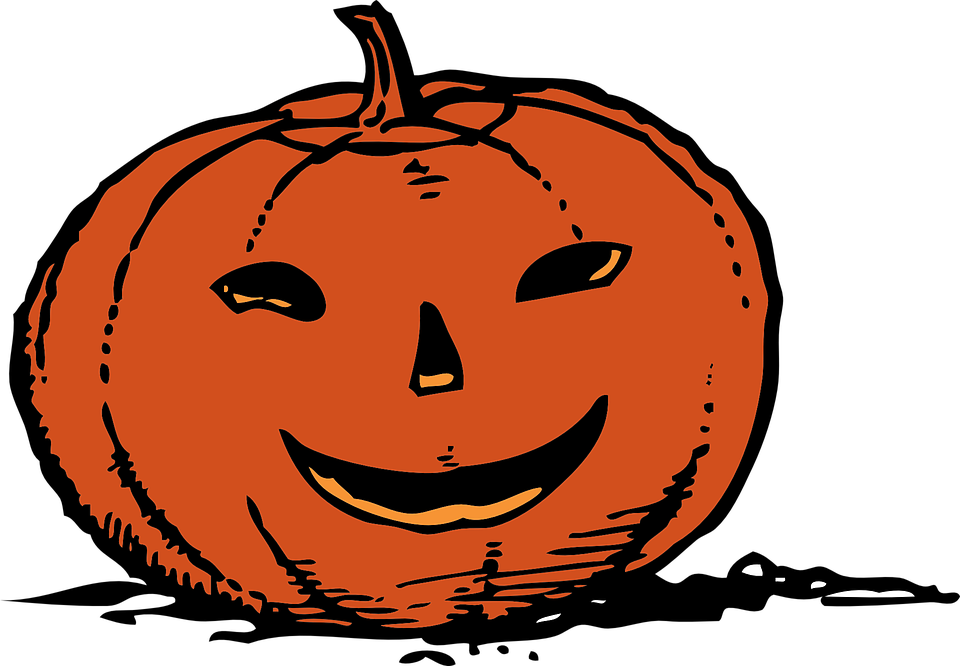 Free vector graphic: Jack-O-Lantern, Halloween, Happy ...
