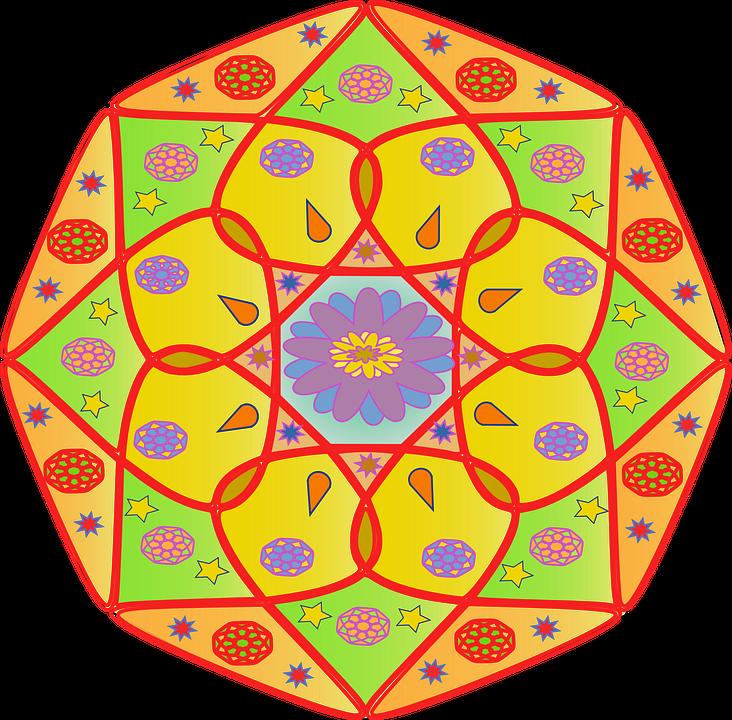 Mandala Colors Hinduism Free Vector Graphic On Pixabay