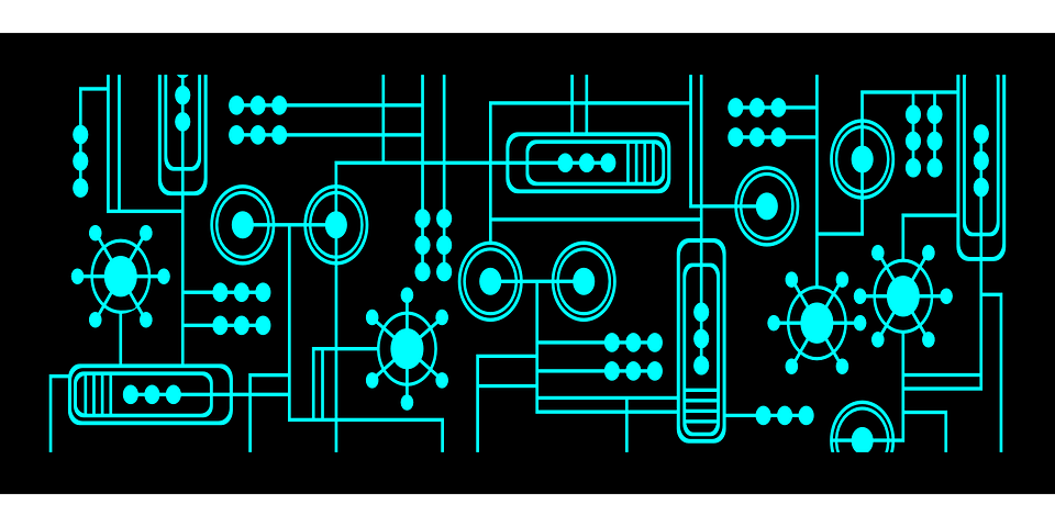 Free Vector Graphic Technology Electric Circuit Free