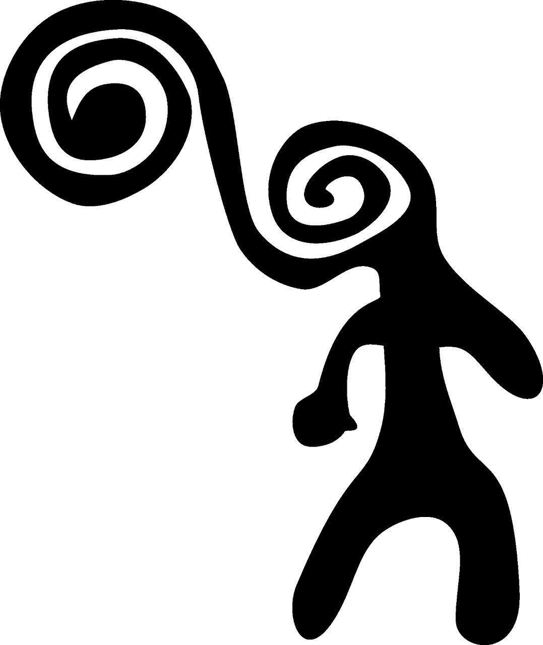 древние символы человека картинки