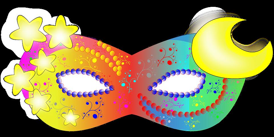 Image vectorielle gratuite Déguisement, Masque, Carnaval
