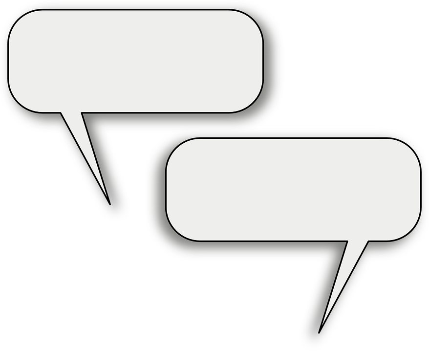 Free vector graphic: Discussion, Speech, Bubbles Free
