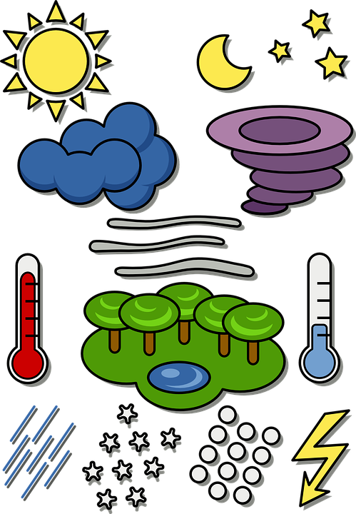 Weather Symbols Temperature Free Vector Graphic On Pixabay