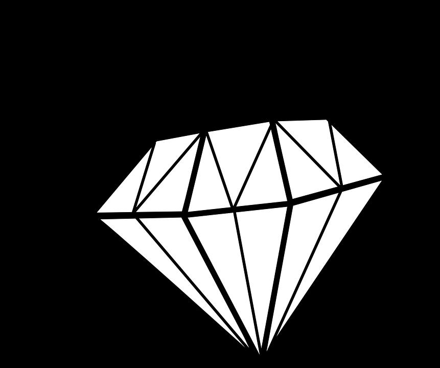 Diamant, Gem, Précieux, Cher, Brillant, Bijou