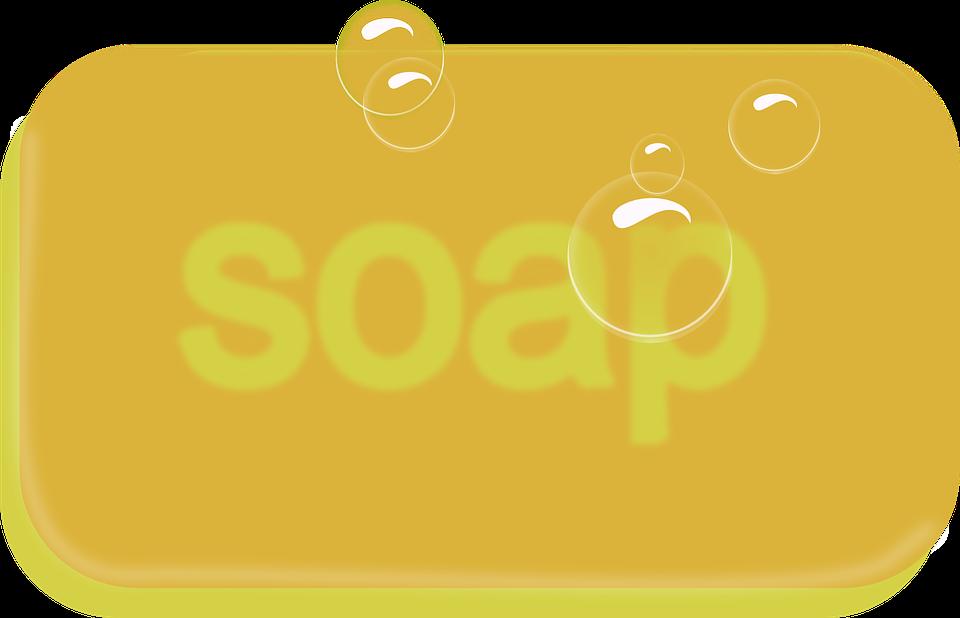 free vector graphic soap bar soap bar bath bubbles. Black Bedroom Furniture Sets. Home Design Ideas