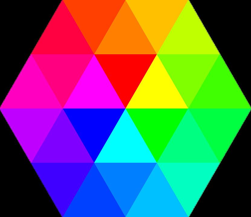 Color Hexágono Paleta De · Gráficos vectoriales gratis en Pixabay