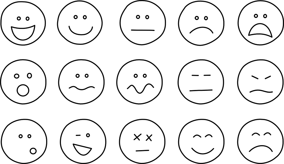 Image vectorielle gratuite motic nes smiley smileys simple image gratu - Smiley simple noir et blanc ...