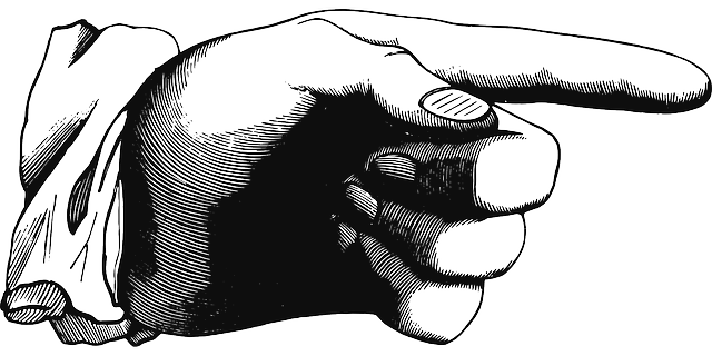 Free Vector Graphic: You, Finger, Pointing, Index Finger