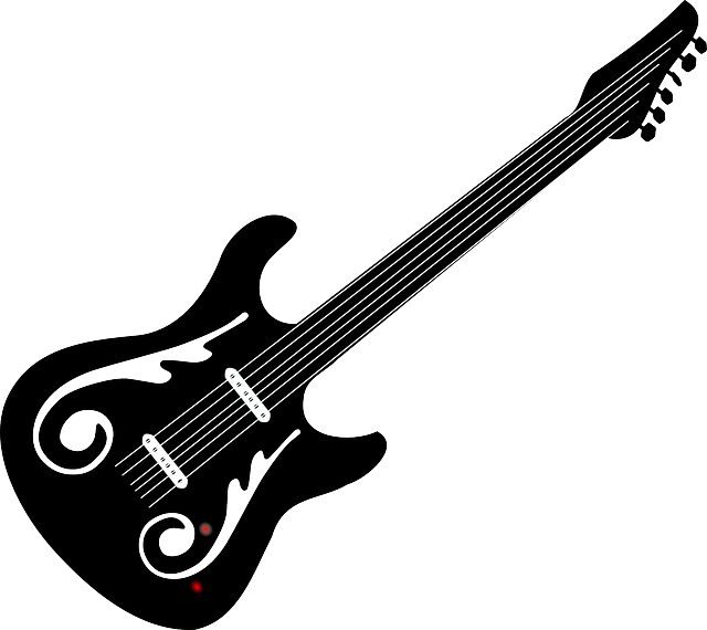 electric guitar rock free vector graphic on pixabay. Black Bedroom Furniture Sets. Home Design Ideas