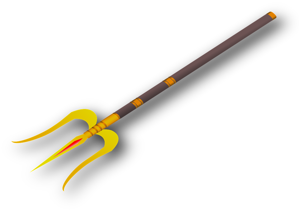 Inde, Shiva, Trois, Spear, Traditionnelles, Trident
