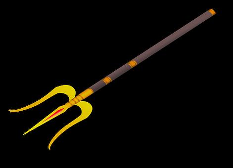 India, Shiva, Three, Spear, Traditional
