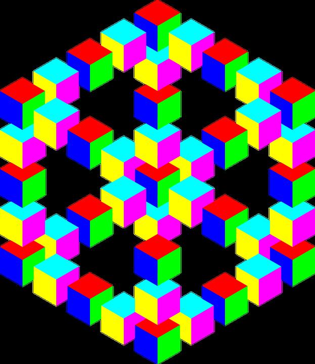kostenlose vektorgrafik optische t uschung t uschung 3d kostenloses bild auf pixabay 154118. Black Bedroom Furniture Sets. Home Design Ideas