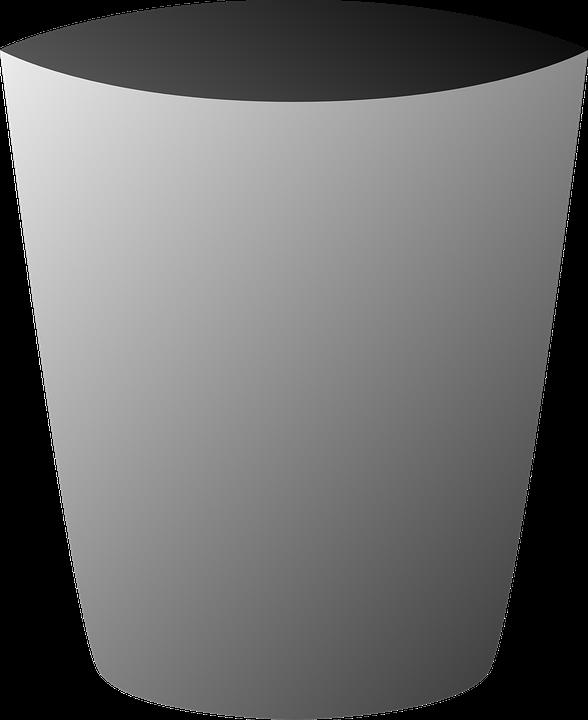 garbage bin can glass recycle bin refuse trash
