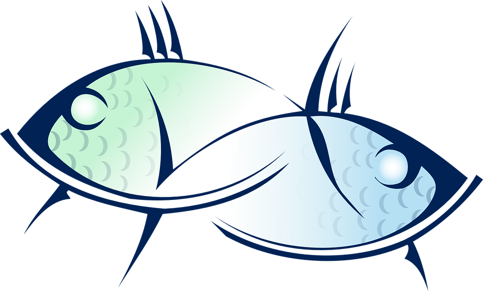 Pisces Fish Animal Sea Free Vector Graphic On Pixabay