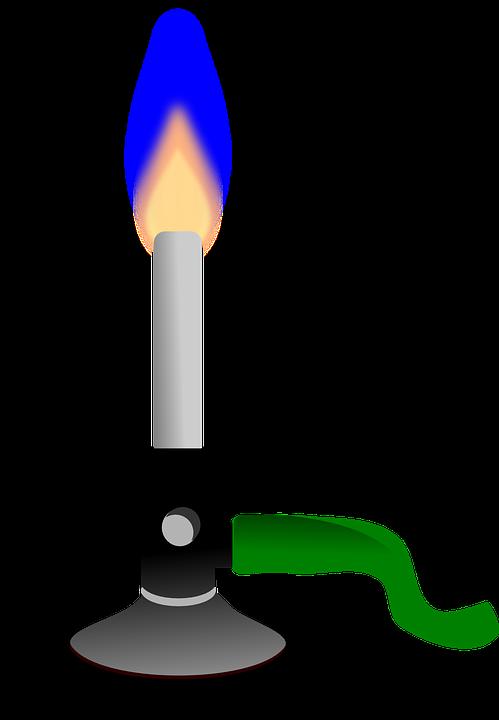 Kostenlose Vektorgrafik: Bunsenbrenner, Brenner, Chemie - Kostenloses Bild auf Pixabay - 154235