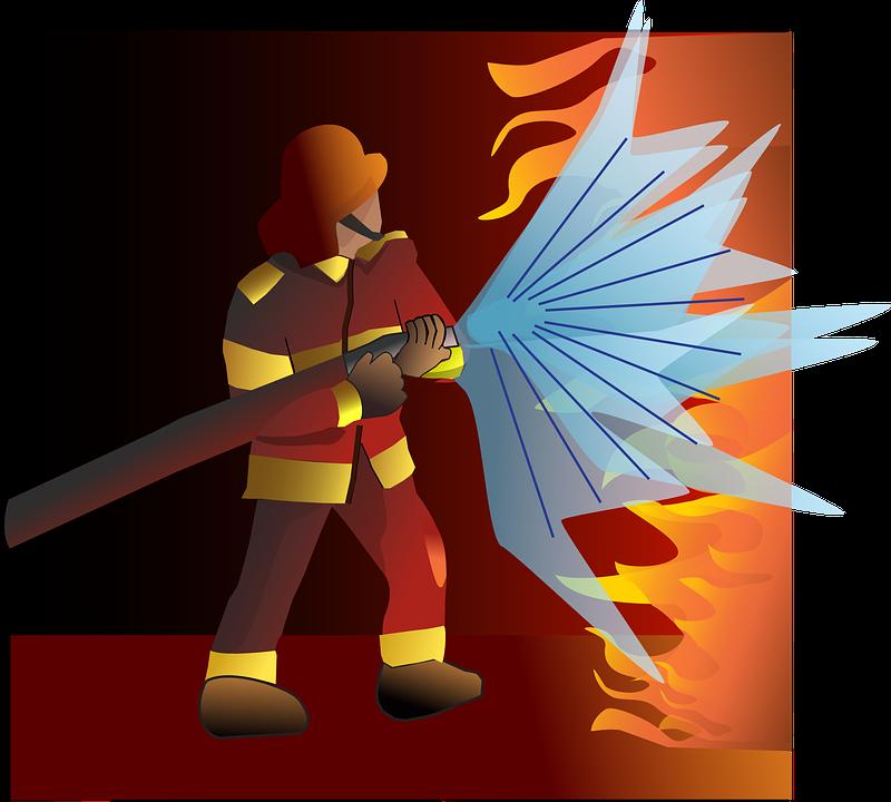 Itfaiye Yangın Alevler Pixabayda ücretsiz Vektör Grafik