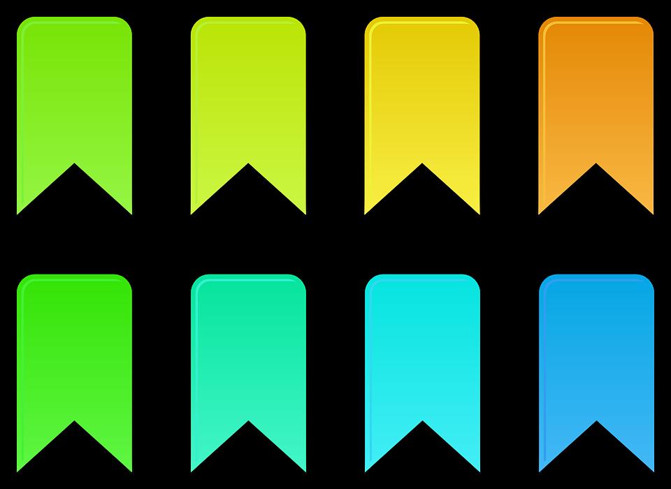Etiqueta blanca libre de opciones binarias
