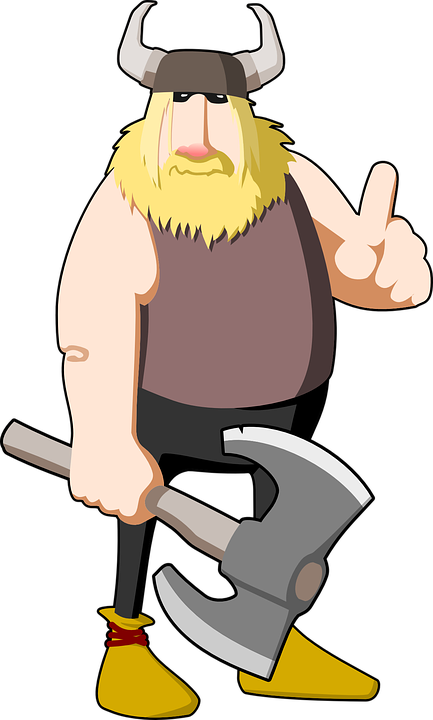398ef6af68f Viking Battle Axe - Free vector graphic on Pixabay